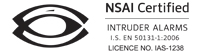 Ultrasafe Security is licenced by the NSAI